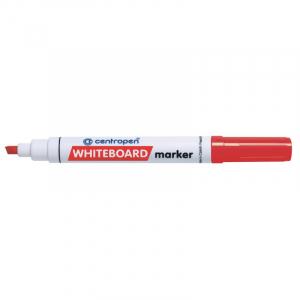 Маркер Centropen Board 8569 1-4,6 мм клиновидный красный