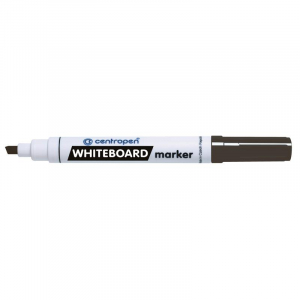 Маркер Centropen Board 8569 1-4,6 мм клиновидный черный