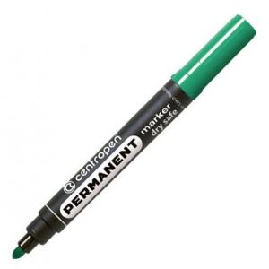 Маркер Centropen Permanent Dry Safe 8510 2,5 мм круглий зелений