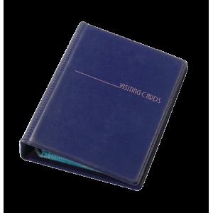 Візитниця на 120 візиток Panta Plast темно-синя