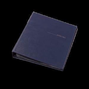 Візитниця на 400 візиток Panta Plast темно-синя