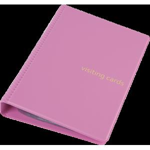 Візитниця на 120 візиток Panta Plast рожева