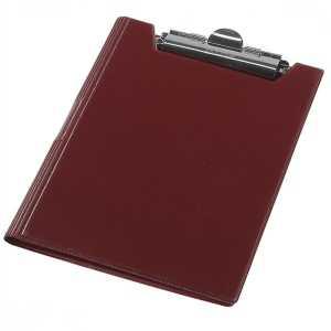 Папка-планшет Panta Plast А4, бордовый