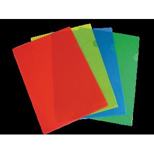 Папка-уголок 180мкм Omega А4 Panta Plast, ассорти