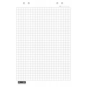 Бумага для флипчарта BuroMax 20 листов (клетка)