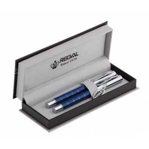 Комплект из перьевой ручки и ручки-роллера Regal