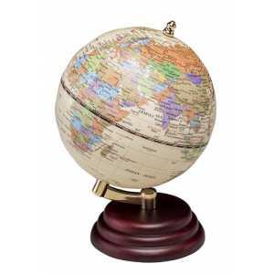 Глобус настольный диаметр 95мм, красное дерево (0909WPM)