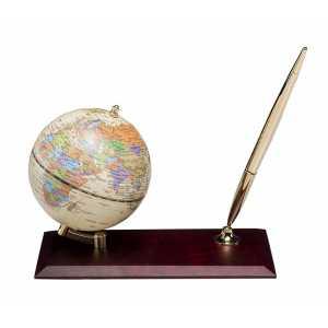 Глобус настольный диаметр 95мм, красное дерево (0910WDM)