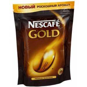 Кофе Nescafe Gold растворимый в пакете 150г