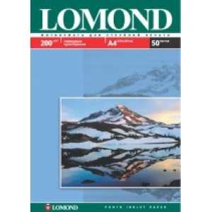 Фотобумага Lomond А4  200 г/м2  глянцевая 50л.