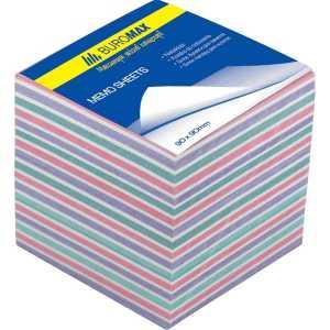 Блок бумаги для записей Зебра 90х90х70мм