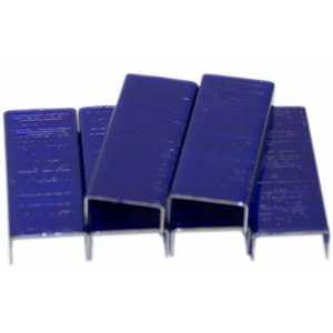 Скобы для степлера Kangaro №10, синие