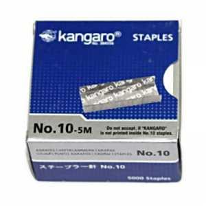 Скобы для степлера Kangaro №10 (5000 шт)