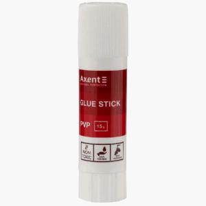 Клей-олівець Axent PVP, 15г (7112-A)