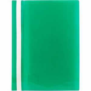 Скоросшиватель пластиковый  Axent A4, зеленый