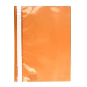 Скоросшиватель пластиковый  Axent A4, оранжевый
