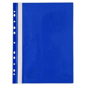 Скоросшиватель с перфорацией Axent A4, синий