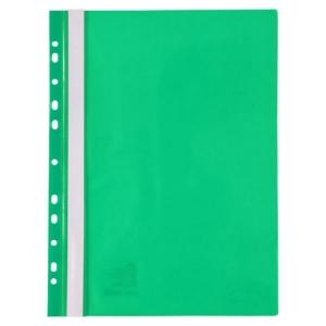 Скоросшиватель с перфорацией Axent A4, зеленый