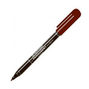 Маркер водостойкий Centropen 2846 1мм коричневый