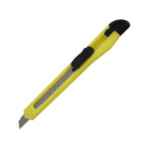 Ніж канцелярський Axent, 9 мм, жовтий (D6521-02)