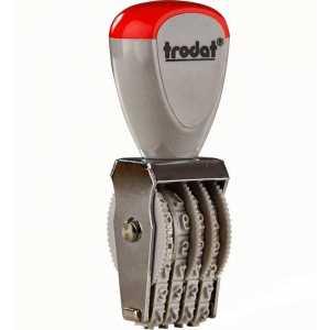 Нумератор ленточный Trodat 4-разрядный, 3мм