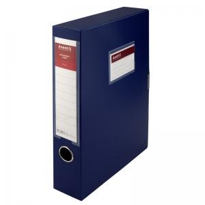 Папка-коробка на липучке Axent 1760-02-A, 60 мм, А4, синяя