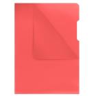 Папка-уголок 180мкм А4 Donau, красный