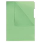 Папка-уголок 180мкм А4 Donau, зеленый