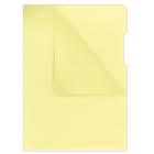 Папка-уголок 180мкм А4 Donau, желтый