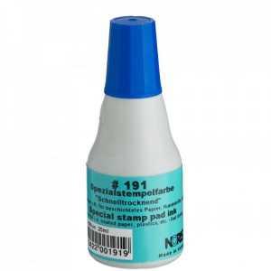 Штемпельна фарба Noris 191 25мл, синя