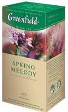 Чай Greenfield Spring Melody черный 25п*1,5г