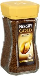 Кава Nescafe Gold розчинна 100г