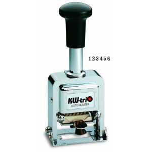 Нумератор автоматический KW-triO 2600, 6-ти разрядный