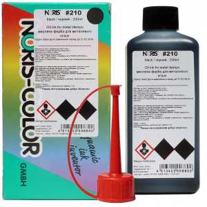 Штемпельная краска Noris 210 250мл, черная