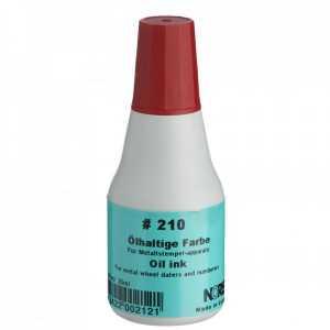 Штемпельная краска Noris 210 25мл, красная