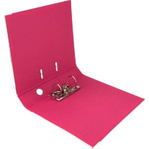 Регистратор двусторонний Axent A4/5 см, розовый