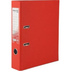 Регистратор односторонний Axent А4/7,5 см, красный