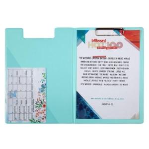 Папка-планшет 2514-18-A, Pastelini, А4, бирюзовая