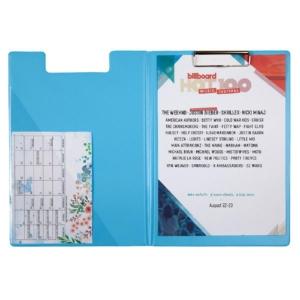Папка-планшет 2514-22-A, Pastelini, А4, голубая