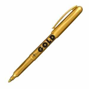 Маркер Centropen Gold 2690 золотой