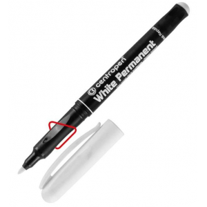 Маркер Centropen Permanent White 2686 1,2 мм білий