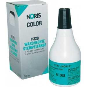 Штемпельна фарба Noris 320 50мл, чорна