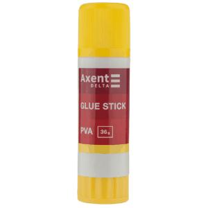 Клей-карандаш Axent PVA, 36г (D7134)