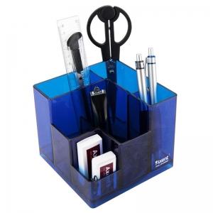 Набор настольный AXENT Cube, в коробке, синий (2106-02-A)
