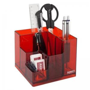 Набор настольный AXENT Cube, в коробке, красный (2106-06-A)
