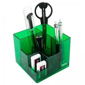 Набор настольный AXENT Cube, в коробке, салатовый (2106-09-A)