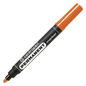 Маркер Centropen Permanent 8566 2,5 мм круглий оранжевий