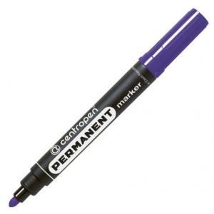 Маркер Centropen Permanent 8566 2,5 мм круглий фіолетовий