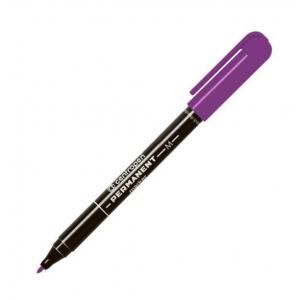 Маркер водостойкий Centropen 2846 1мм фиолетовый