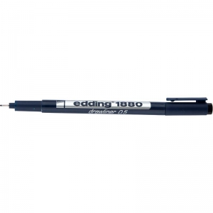 Лайнер для черчения Edding e-1880 drawliner, 0,5мм